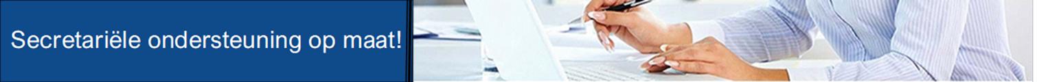 Uw secretariële duizendpoot - Admon services
